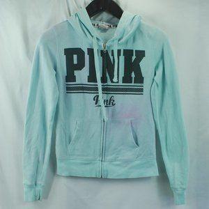 VS Pink | Blue & Purple Zip Up Hoody Sweatshirt XS